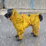 View Image 3 of Zippy Dynamics Rainy Full-Body Dog Rainsuit