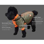 View Image 3 of Zippy Dynamics Trendy Dog Parka