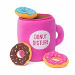 View Image 2 of ZippyPaws Burrow Dog Toy - Coffee and Donutz