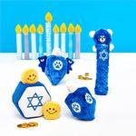 View Image 5 of ZippyPaws Hanukkah Burrow Dog Toy - Star of David