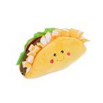 View Image 1 of ZippyPaws NomNomz Dog Toy - Taco
