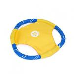 View Image 1 of ZippyPaws Rope Gliderz Dog Toy - Yellow
