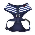 View Image 2 of Baseball Sport Dog Harness by Puppia - Navy