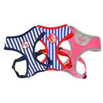 View Image 4 of Baseball Sport Dog Harness by Puppia - Navy