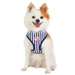 View Image 5 of Baseball Sport Dog Harness by Puppia - Navy