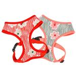 View Image 3 of Verna Dog Harness by Puppia - Red