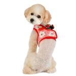 View Image 5 of Verna Vest Dog Harness by Puppia - Red