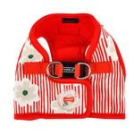 View Image 1 of Verna Vest Dog Harness by Puppia - Red