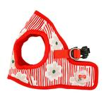 View Image 3 of Verna Vest Dog Harness by Puppia - Red