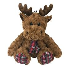 Plush Christmas Reindeer Dog Toy