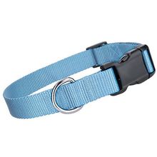 Parisian Pet Nylon Dog Collar - Light Blue