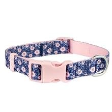 Parisian Pet Midnight Blossoms Dog Collar