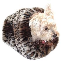 3-in-1 Cozy Dog Cuddle Sack - Ocelot