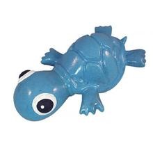 3-Play Turtle Dog Toy by Cycle Dog - Blue