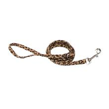 Ultrasuede Dog Leash by The Dog Squad - Leopard