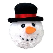 Christmas EZ Snowman Ball Dog Toy