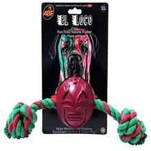 4BF Lucha Libre Mask Dog Toy - El Loco (Crazy)