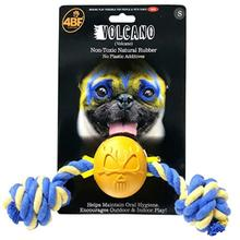 4BF Lucha Libre Mask Dog Toy - Volcano