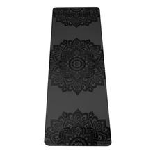 5.0mm Infinity Yoga Mat - Mandala Charcoal