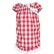 Tunic Country Dog Dress by Parisian Pet - Red Gingham
