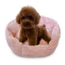 Shell Dog Bed by The Dog Squad - Light Pink
