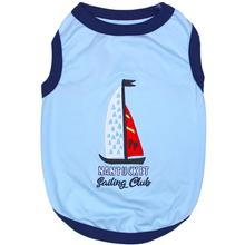 Sailing Club Dog Tank by Parisian Pet - Blue