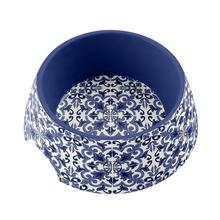 Canyon Clay Pet Bowl by TarHong - Indigo