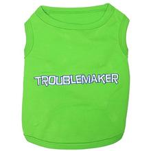 Troublemaker Dog Tank by Parisian Pet