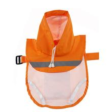 Parisian Pet Reflective Dog Raincoat - Orange