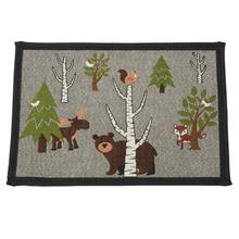 Acadia Tapestry Dog Bowl Placemat