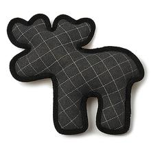 Acadia Felt & Sherpa Moose Dog Toy - Gray