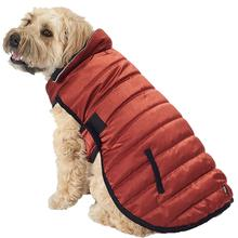 Acadia Puffer Dog Coat - Copper