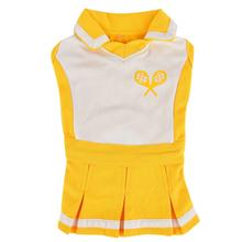 Ace Tennis Dog Dress by Puppia - Yellow
