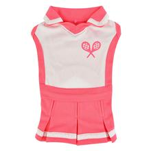 Ace Tennis Dog Dress by Puppia - Pink