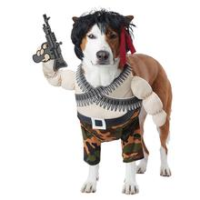 Action Hero Halloween Dog Costume