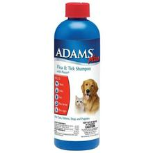 Adams Plus Flea and Tick Pet Shampoo with Precor