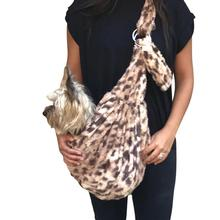 Fur Baby Adjustable Sling Bag Dog Carrier - King Cheetah