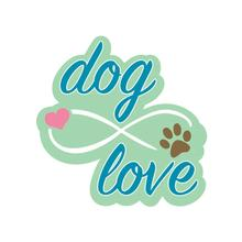Infinite Dog Love Sticker by Dog Speak