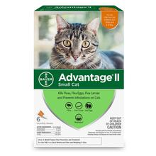 Advantage II Flea Control Cat Treatment - 6 Month Supply