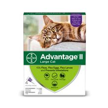 Advantage II Flea Control Cat Treatment - 4 Month Supply