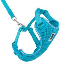 Adventure Kitty Cat Harness with Leash by RC Pets - Teal