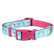 Parisian Pet Flamingos Dog Collar