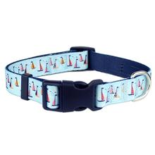 Parisian Pet Sail Boats Dog Collar