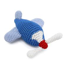 Airplane Crochet Dog Toy by Dogo