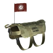 Alabama Crimson Tide Tactical Vest Dog Harness