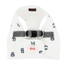 Algo Dog Harness Vest by Puppia - White