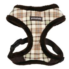 Aline Basic Style Dog Harness By Pinkaholic - Brown