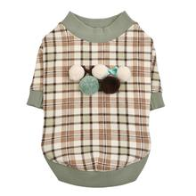 Aline Dog Shirt by Pinkaholic - Mint