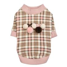 Aline Dog Shirt by Pinkaholic - Indian Pink