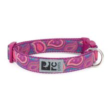 Bright Paisley Adjustable Clip Dog Collar By RC Pets